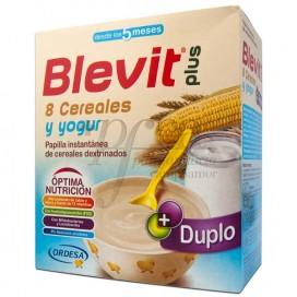 BLEVIT PLUS 8 CEREALES Y YOGUR 600 G PROMO