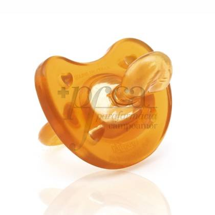 CHICCO ALL RUBBER PACIFIER 0M+