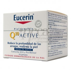 EUCERIN Q10 ANTI-WRINKLE NIGHT CREAM 50 ML