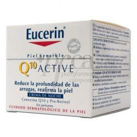 EUCERIN Q10 NACHTCREME  ANTIFALTEN 50ML