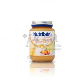 NUTRIBEN MANZANA MELOCOTÓN CEREALES 200 G