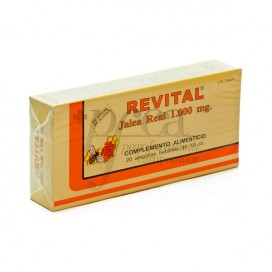 REVITAL JALEA REAL 20 AMPOLLAS BEBIBLES