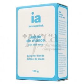 IA JABON DE MANOS CON ALOE VERA 100G