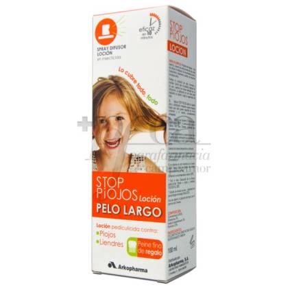 STOP PIOJOS LOCION PELO LARGO 100ML + PEINE FINO