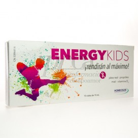 ENERGY KIDS 10 VIALES 15ML PHARMASOR