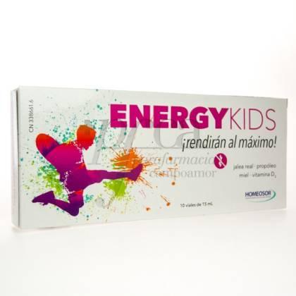 ENERGY KIDS SORIA NATURAL 10 VIALES DE 15 ML