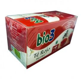 BIO3 TE ROJO PU-ERH 25 BOLSITAS DE 1,8G
