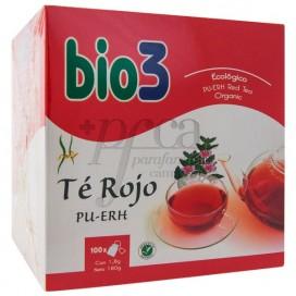 BIO3 TE ROJO PU-ERH 100 BOLSITAS DE 1,8G
