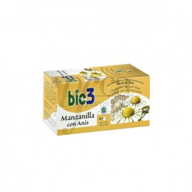 BIO3 CHAMOMILE WITH ANISE 1.4 G 25 TEA BAGS