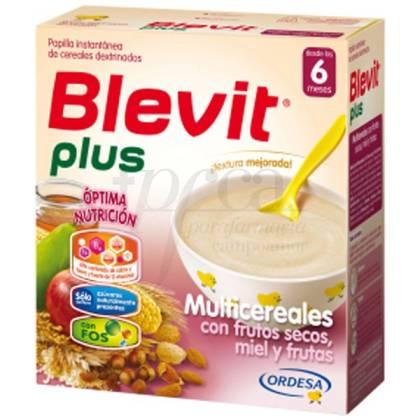 BLEVIT PLUS MIEL FRUTOS SECOS FRUTAS MULTICE 300