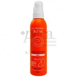 AVENE SOLAR SPF20 SPRAY 200 ML