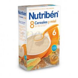 NUTRIBEN 8 CEREALES Y MIEL 300 G