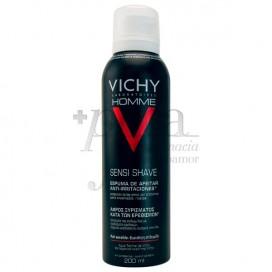 VICHY HOMME SENSITIVE SKIN SHAVING FOAM 200ML