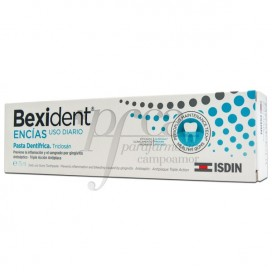 BEXIDENT ENCIAS TRICLOSAN PASTA DENTIFRICA 75 ML