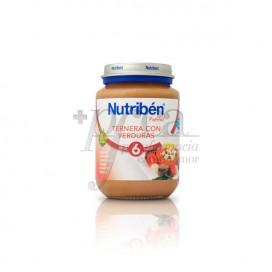 NUTRIBEN TERNERA VERDURAS 200 G