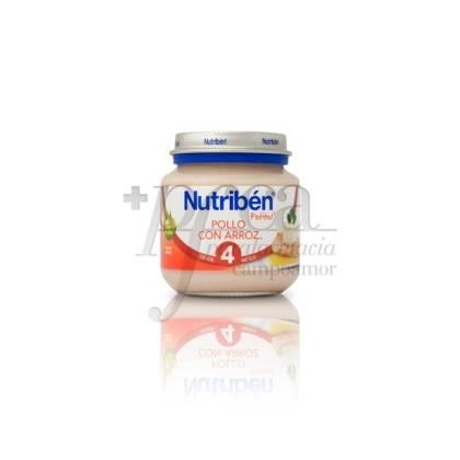 NUTRIBEN POLLO CON ARROZ 130 G