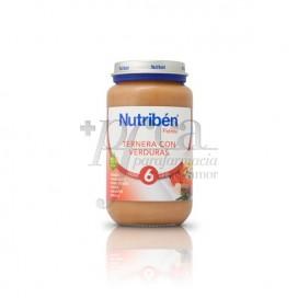 NUTRIBEN TERNERA VERDURAS 250 G