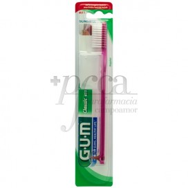 CEPILLO DENTAL ADULTO GUM 411 TEXTURA NORMAL MED