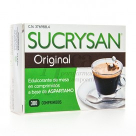 SUCRYSAN ORIGINAL EDULCORANTE 300 COMPRIMIDOS
