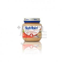 NUTRIBEN FRANGO VERDURAS 130 G