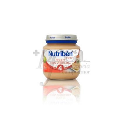 NUTRIBEN POLLO VERDURAS 130 G