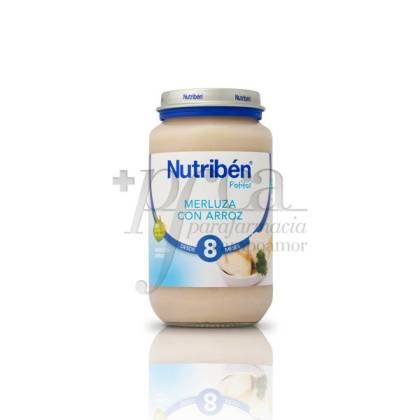 NUTRIBEN MERLUZA ARROZ  250 G