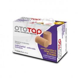 TAPONES OIDOS GOMAESPUMA OTOTAP 6 U