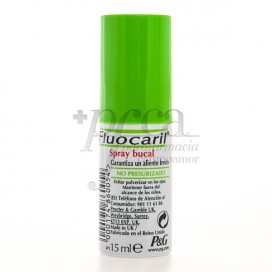 FLUOCARIL FRESH BREATH MOUTH SPRAY 15ML