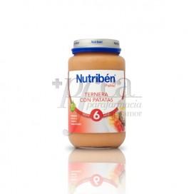 NUTRIBEN KALBFLEISCH MIT KARTOFFELN 250 G