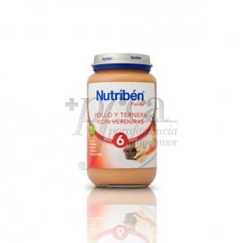 NUTRIBEN POLLO TERNERA VERDURAS  250 G