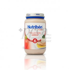 NUTRIBEN POLLO ARROZ  250 G