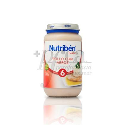NUTRIBEN POLLO ARROZ  250 G