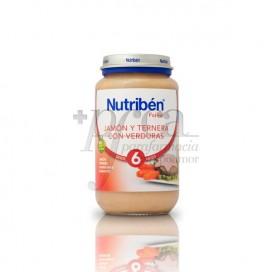 NUTRIBEN PRESUNTO VITELA VERDURAS 250 G