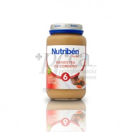 NUTRIBEN MENESTRA CORDERO 250 G