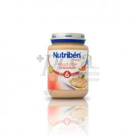 NUTRIBEN POLLO VERDURAS 200 G