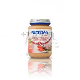 NUTRIBEN JAMON TERNERA VERDURAS 200 G