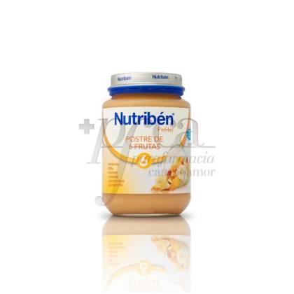 NUTRIBEN POSTRE DE 6 FRUTAS 200 G