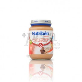 NUTRIBEN CHICKEN, BEEF AND VEGETABLES 200 G