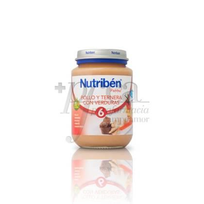 NUTRIBEN POLLO TERNERA VERDURAS 200 G