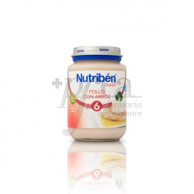 NUTRIBEN POLLO ARROZ 200 G