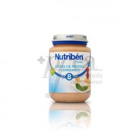 NUTRIBEN CREME DE BATATAS E LINGUADO 200 G