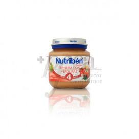 NUTRIBEN TERNERA CON VERDURAS 130 G