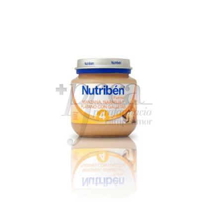 NUTRIBEN MANZANA NARANJA PLÁTANO GALLETAS 130 G
