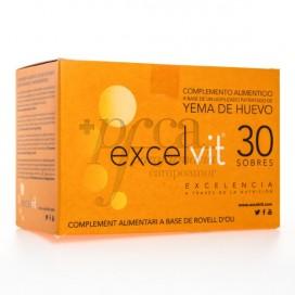 EXCELVIT YEMA DE HUEVO 30 SOBRES
