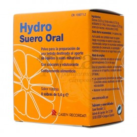 HYDRO ORAL REHYDRATION SOLUTION 8 SACHETS 5,4 G