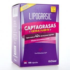 LIPOGRASIL CAPTAGRASAS EXTRAFORTE 180 CÁPSULAS