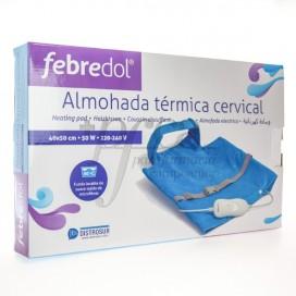FEBREDOL TRAVESSEIRO ELÉTRICA CERVICAL 40x50 CM