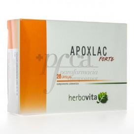 APOXLAC FORTE HERBOVITA 20 CAPS