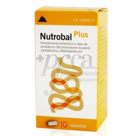 NUTROBAL PLUS 10 CAPS