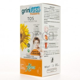 GRINTUSS PEDIATRICO JARABE POLIRESINAS 1A+ 180ML